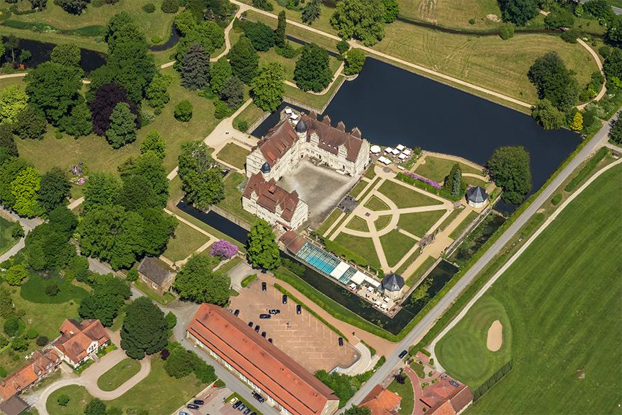 Kotyrba Luftbildfotografie | Schloss Schwöbber