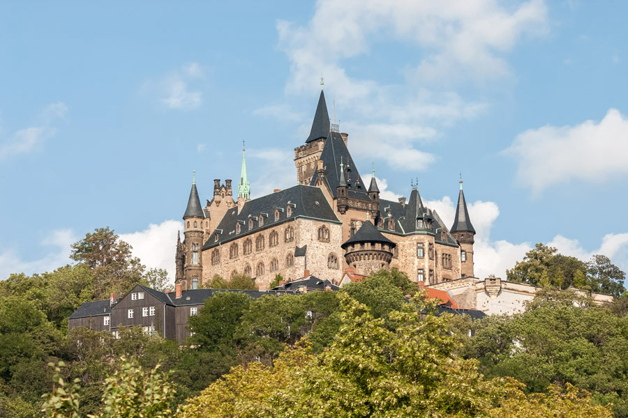 Schloss Wernigerode   Landschaftsfotografie Sándor Kotyrba
