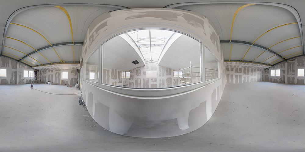 360-Grad-Panoramafotografie | Hallenbau