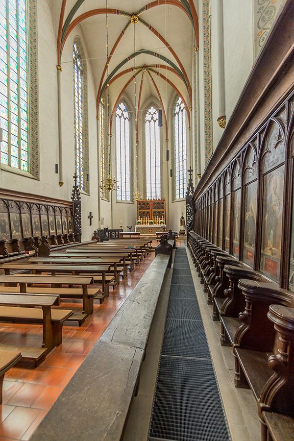Brüdernkloster St. Ulrici Braunschweig   Architekturfotografie Sándor Kotyrba