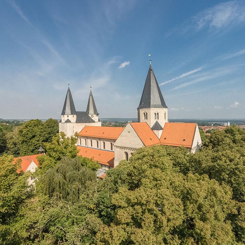 Luftbild Kaiserdom Königslutter | Luftbildfotografie Sándor Kotyrba