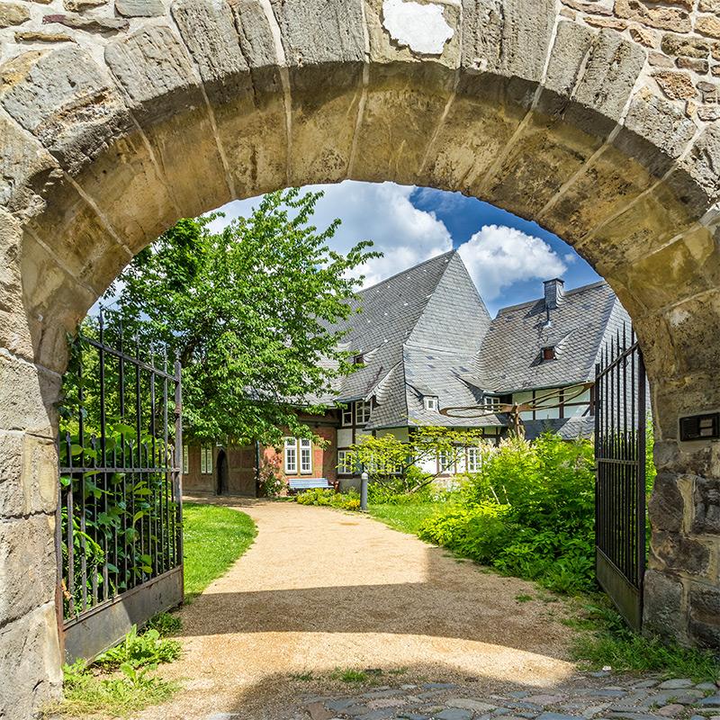 Fotografie   St. Annenhaus Goslar