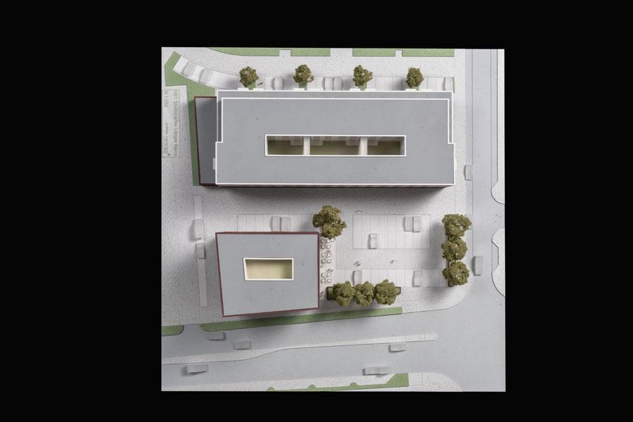 Sándor Kotyrba Architekturfotografie Braunschweig | Architekturmodell Langer Kamp Braunschweig