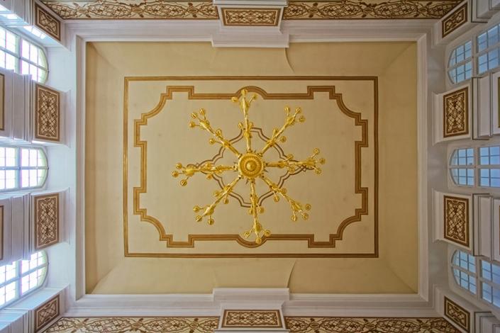 Schloss Rammenau   Fotografie Blicke nach oben