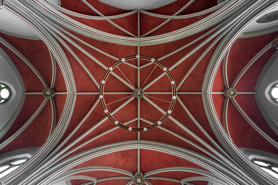 St. Johanniskirche Braunschweig   Fotografie Blicke nach oben