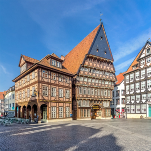 Fotografie Fachwerk | Knochenhaueramtshaus Hildesheim