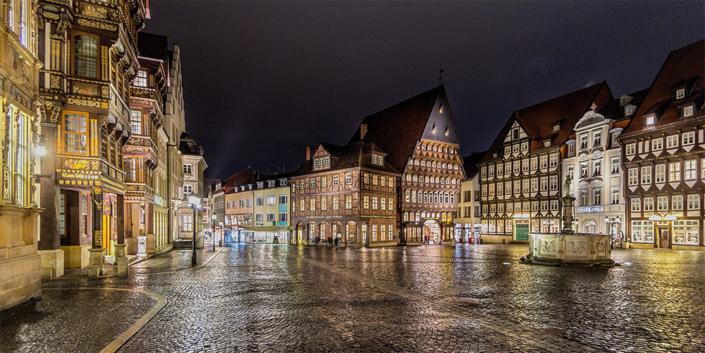 Fotografie Cityscape | Markt Hildesheim