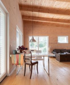 kotyrba architekturfotografie cottbus | Einfamilienhaus, Ess- und Wohnbereich