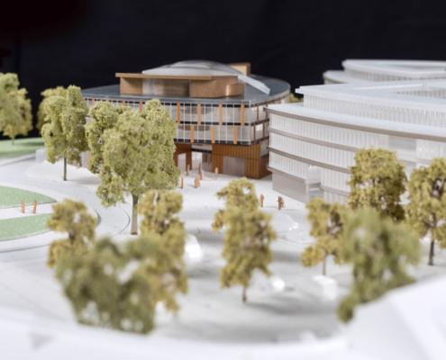 Kotyrba Architekturfotografie Braunschweig | Architekturmodell Lilienthalquartier