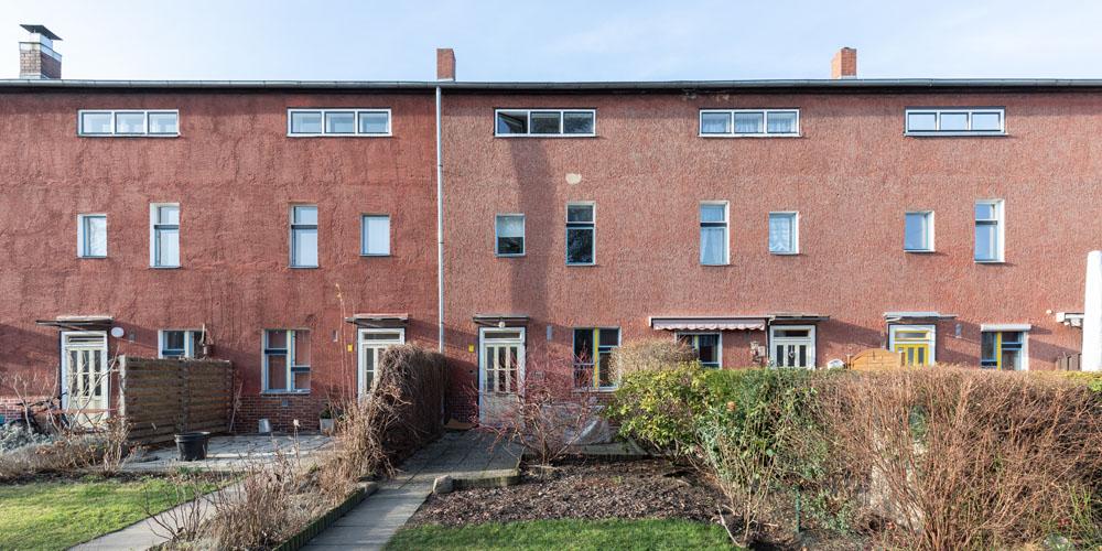Kotyrba Architekturfotografie Berlin   Bruno-Taut-Haus, Gartenfront