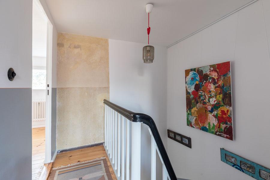 Kotyrba Architekturfotografie Berlin | Bruno-Taut-Haus, Flur im 2. Obergeschoss