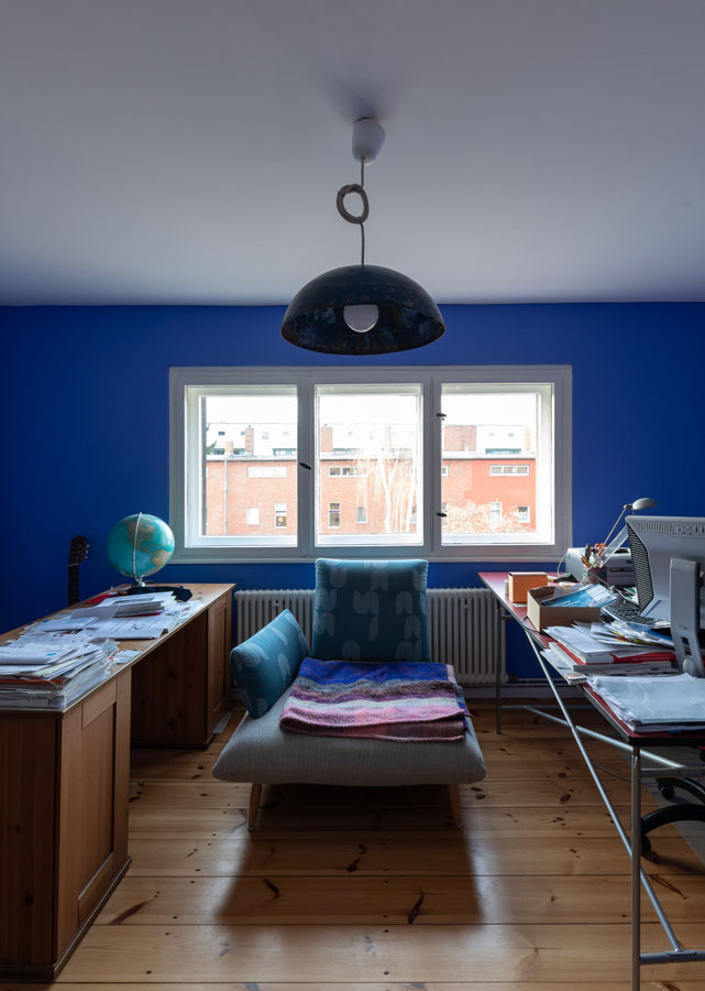 Kotyrba Architekturfotografie Berlin | Bruno-Taut-Haus, Arbeitszimmer