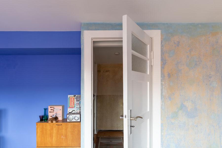 Kotyrba Architekturfotografie Berlin | Bruno-Taut-Haus, Eingang vom Arbeitszimmer