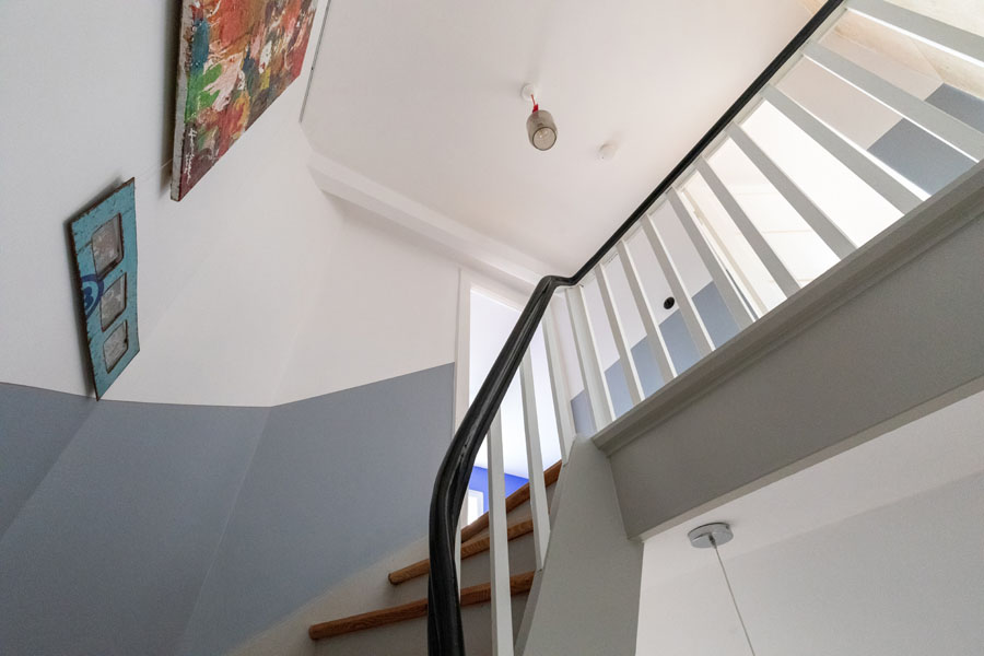 Kotyrba Architekturfotografie Berlin | Bruno-Taut-Haus, Treppenhaus