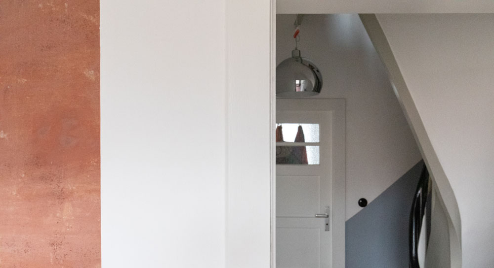 Kotyrba Architekturfotografie Berlin   Bruno-Taut-Haus, Wandabwicklung
