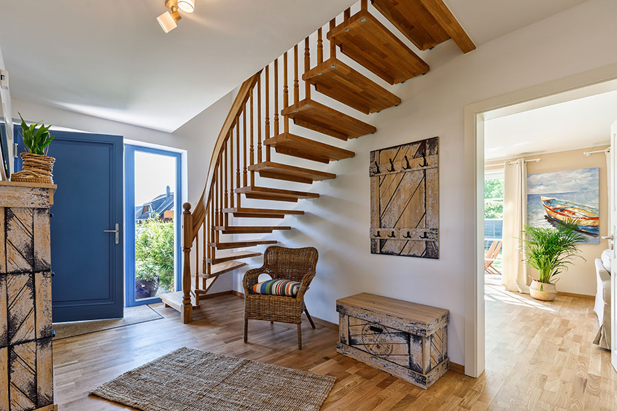 Eingang | Strandrose Ostsee-Appartements Kalifornien