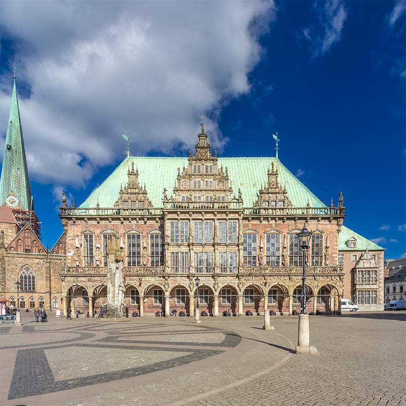Rathaus Bremen | Architekturfotografie Sándor Kotyrba
