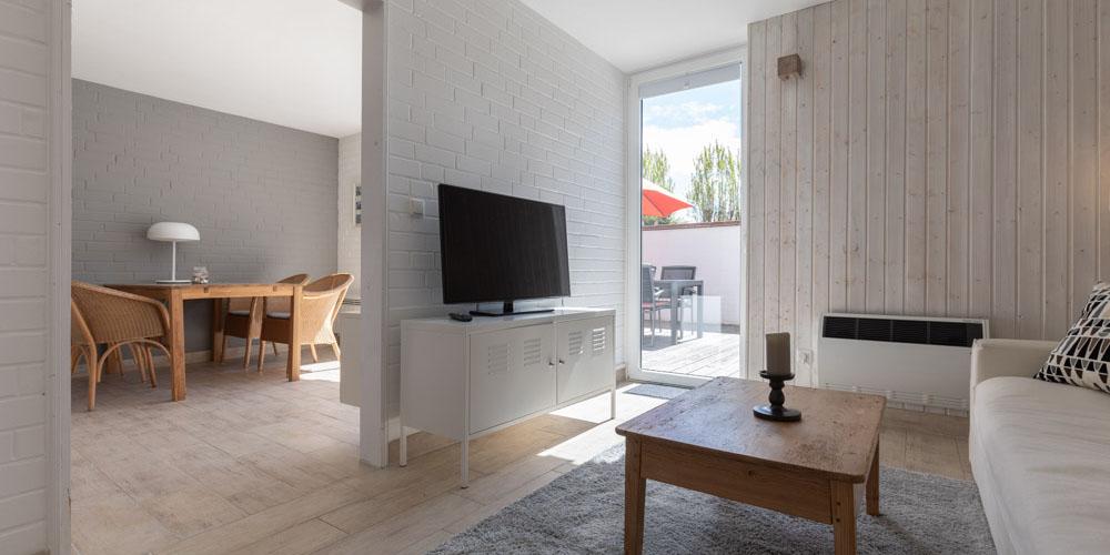 Architekturfotografie Kiel | Ocean 12 Ostsee Appartements, Wohnbereich