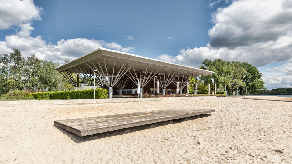 Allerpark Wolfsburg, Expo-Pavillon | Sándor Kotyrba Architekturfotografie