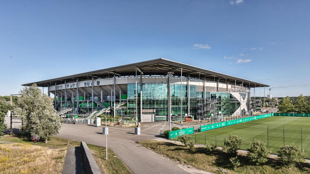 Allerpark Wolfsburg, Vfl-Stadion (Nordansicht) | Sándor Kotyrba Architekturfotografie