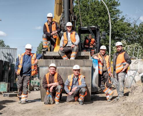 Fotografie Tiefbau-Arbeiten | Max Kroker Bauunternehmungen GmbH (#424A9917)
