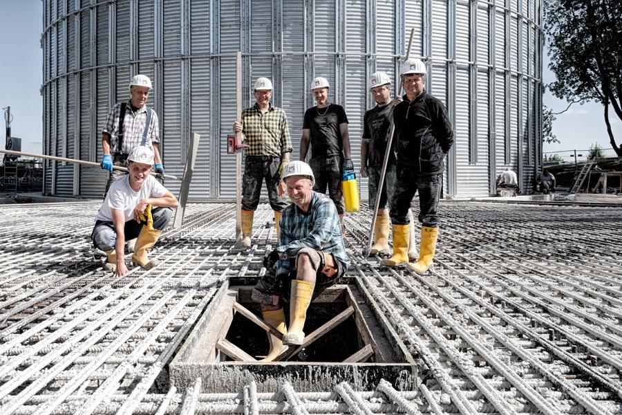 Fotografie Baudokumentation | Betonagearbeiten